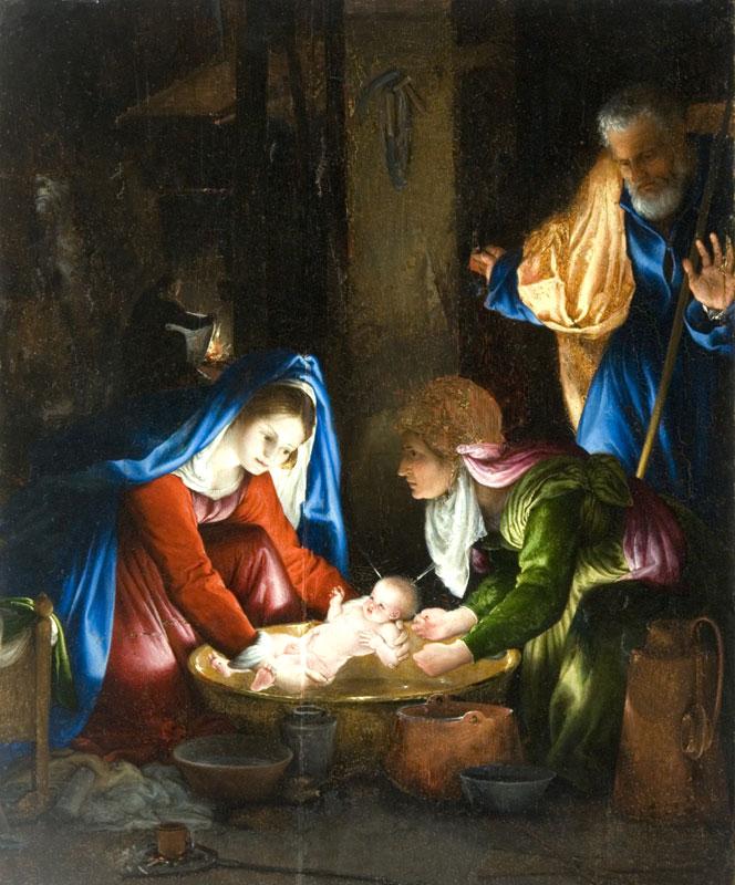 Lorenzo Lotto Natività 1521 olio su tavola Siena, Pinacoteca Nazionale 17