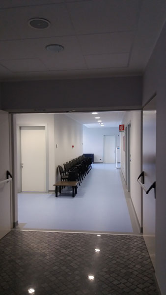 Area attesa e ambulatori