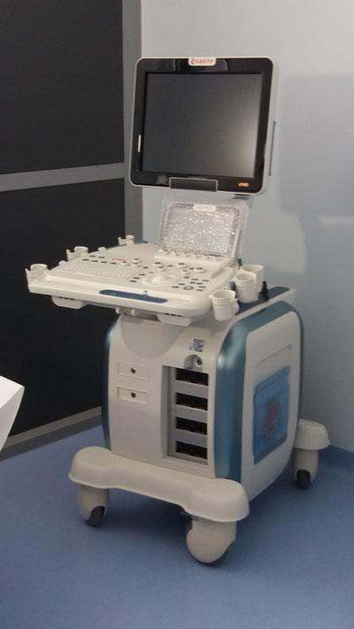 Il nuovo ecografo per la diagnosi dei noduli della mammella