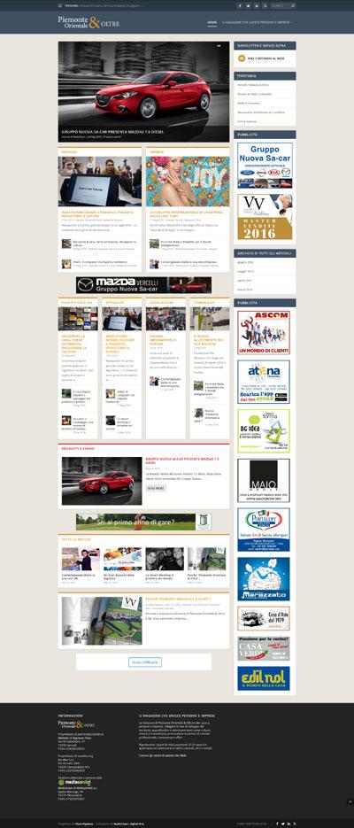 Home page Piemonte Orientale