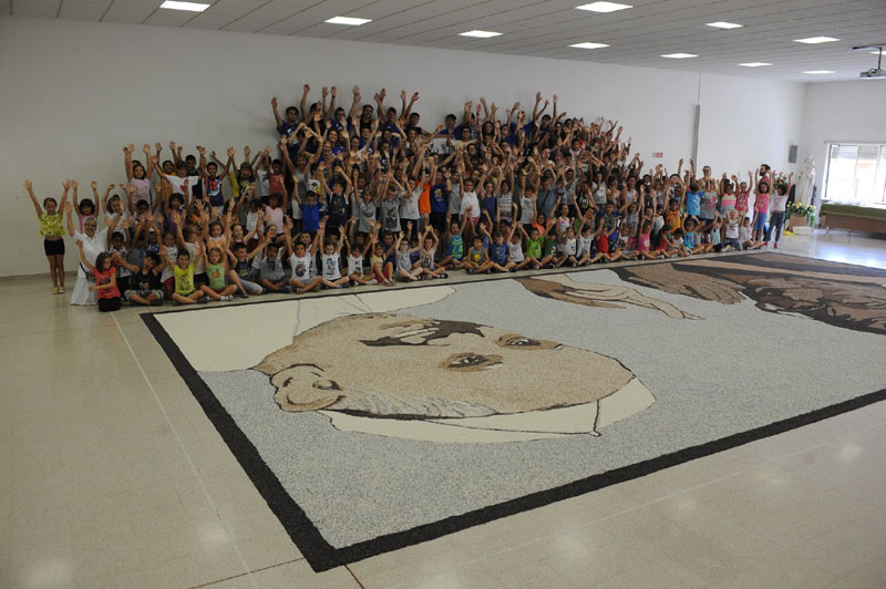 Il Risegno all'Istituto Sacro Cuore di Vercelli nel 2015