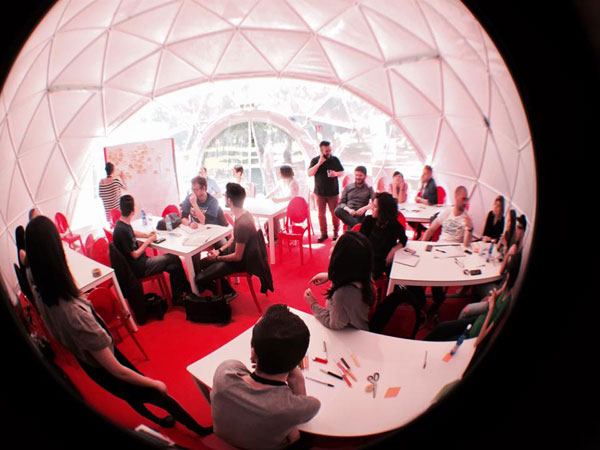 Workshop sul Near Future Design al Wired Next Fest 2015 di Milano