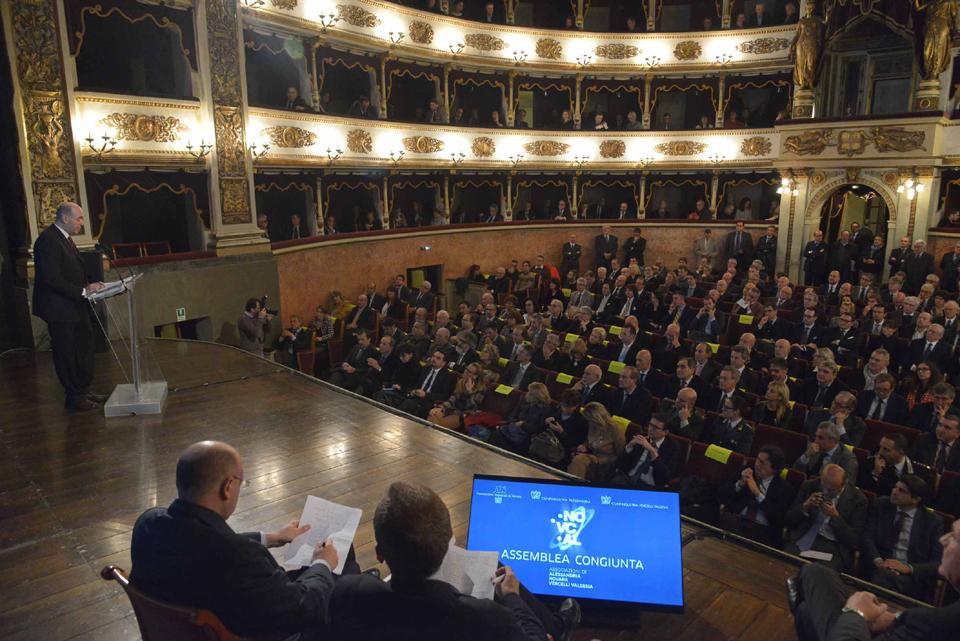 L'Assemblea Congiunta delle Associazioni Industriali di Novara, Alessandria e Vercelli-Valsesia nella prospettiva di Confindustria Territoriale Piemonte Orientale
