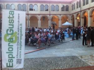 Il Chiostro di San Sebastiano a Biella