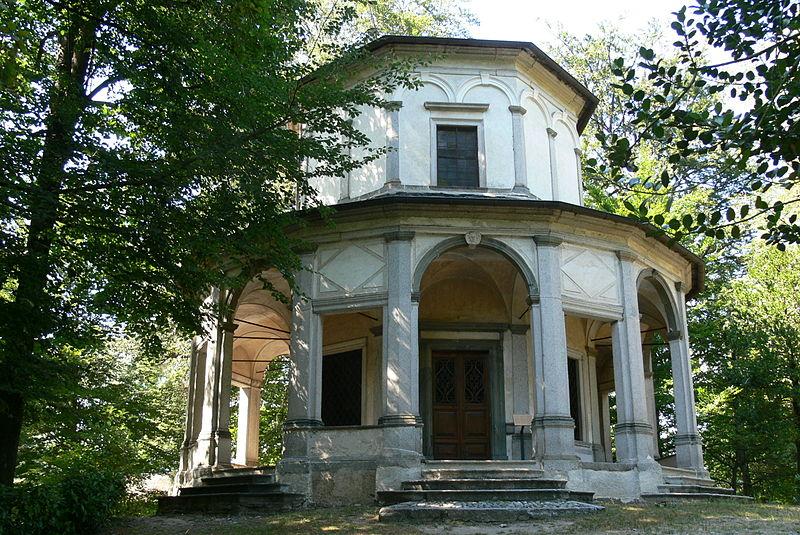 La cappella VIII del Sacro Monte di Orta.