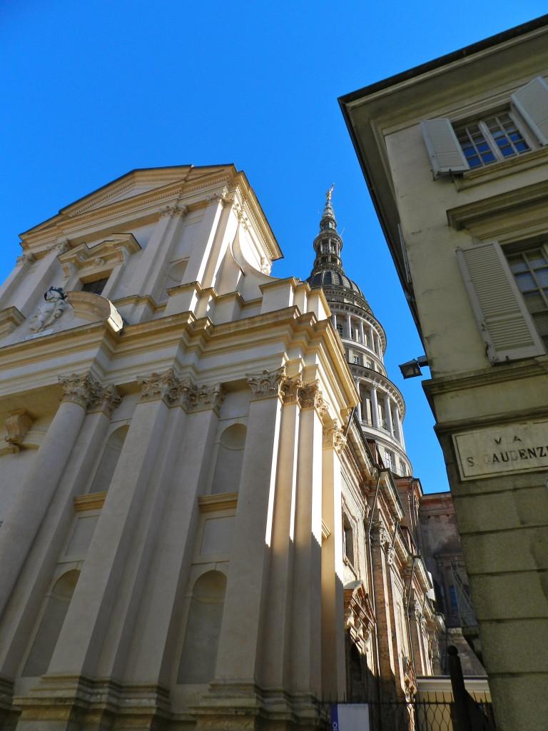 La basilica di San Gaudenzio e la cupola antonelliana