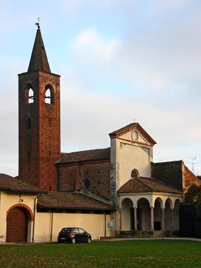 L'abbazia di Sant'Albino a Mortara, tappa della Via Francigena