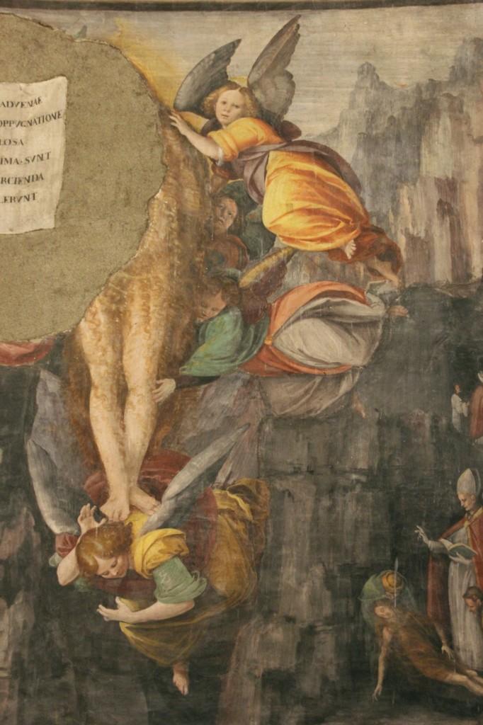 Gaudenzio Ferrari, L'ascensione della Maddalena - particolare delle Storie della Maddalena