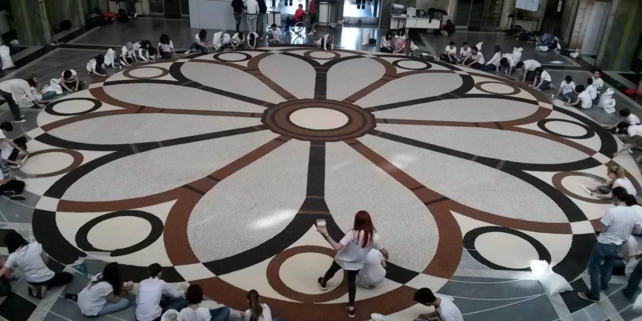"""Il Mandala di Riso """"da Record"""" a Vercelli"""