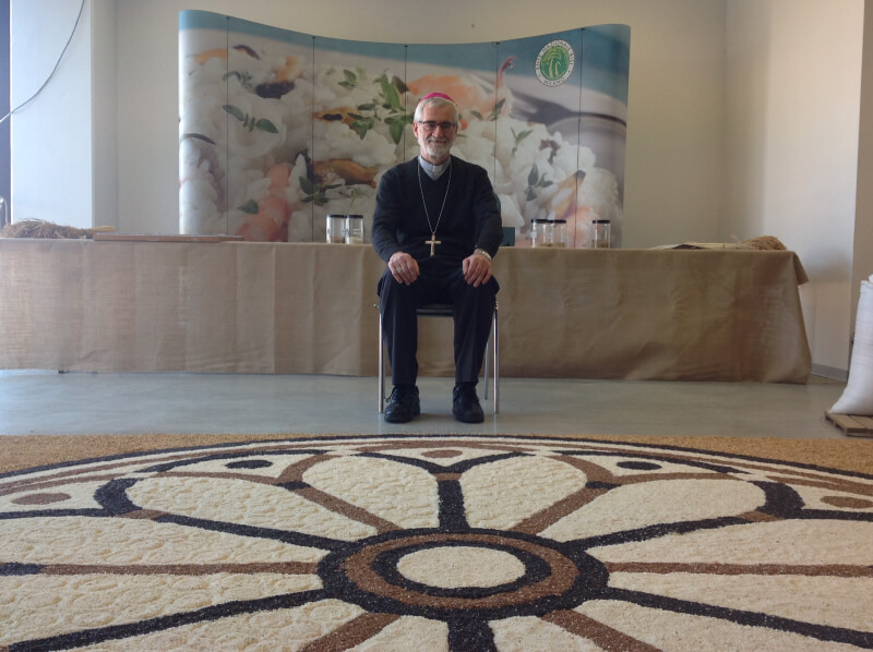 Mandala di Riso, intervista all'Arcivescovo Marco Arnolfo