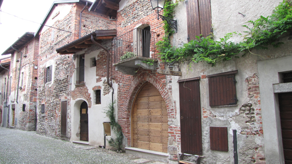 Il ricetto-castello di Ghemme (Novara)