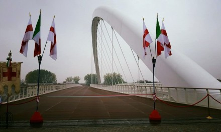 Ad Alessandria inaugurato il ponte progettato da Richard Meier